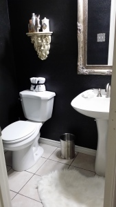 Our powder room. Love it!