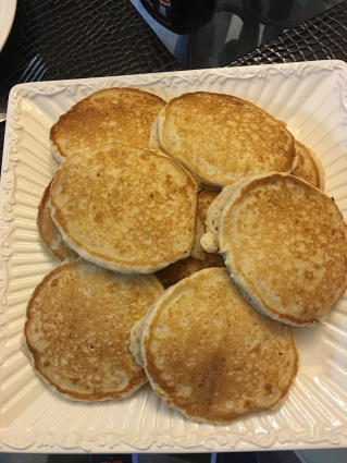 rolled oats pancakes